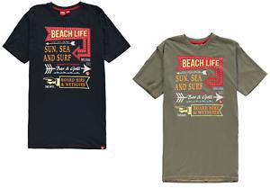 D555 caballeros t-shirt t shirt tshirt manga corta top ocio casual kennedy Beach 233