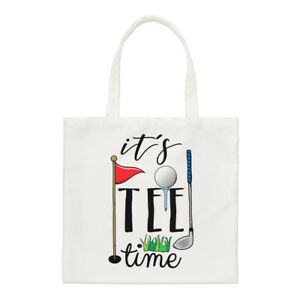 It-039-s-Tee-Time-Small-Tote-Bag-Funny-Golf-Dad-Father-039-s-Day-Shoulder