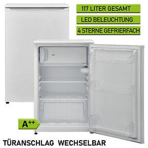 Tischkühlschrank A++ Kühlschrank 117 Liter Gefrierfach