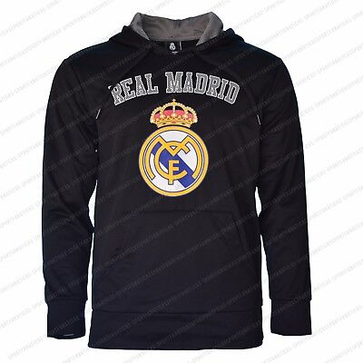 free shipping eee98 80a53 Real Madrid Hoodie Jacket Zip up Fleece Soccer Adult All Sizes Ronaldo  Jersey   eBay
