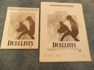 THE-DUELLISTS-1977-KEITH-CARRADINE-ORIGINAL-PRESSBOOK-amp-2-AD-SECTIONS