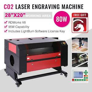 """2020 Upgraded 80W 28"""" x 20"""" CO2 Laser Engraver Cutter W ..."""