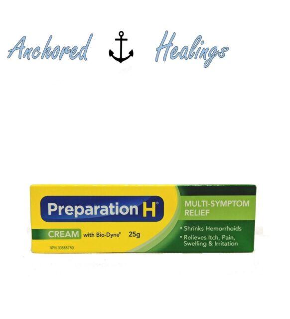 Preparation H Cream with Bio Dyne Multi-Symptom Relief 25g Exp. 04/2021