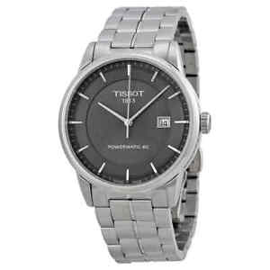 Tissot-Luxury-Powermatic-80-Anthracite-Dial-Men-039-s-Watch-T0864071106100