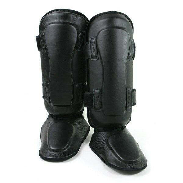 MMA Boxing Leather Shin and Insteps
