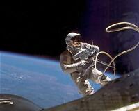 11x14 Photo: Astronaut Ed White In Spacewalk, Gemini-titan 4 Mission