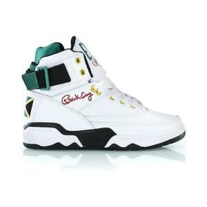 dd7e9222bc98 PATRICK EWING ATHLETICS 33 HI White/Black/Green/Yellow Jamaica OG ...