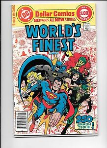 World-039-s-Finest-250-May-1978-Wonder-Woman-Batman-80-page-giant-Black-Canary