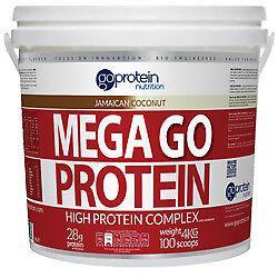 MEGA GO PROTEIN - Bodybuilding Big Lean Muscle