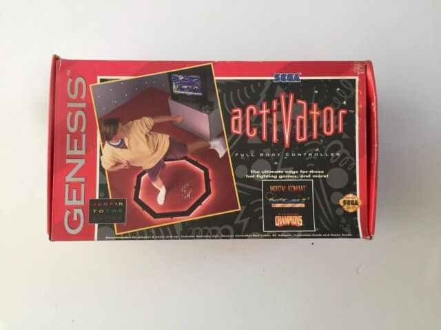 Sega Genesis Activator Full Body Motion Controller In Box Vintage Never Been Use