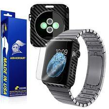ArmorSuit MilitaryShield Apple Watch 42mm (ver.1) Screen Protector+Black Carbon