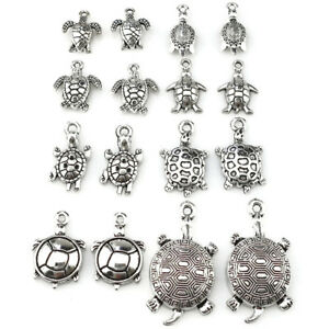 22402-16pcs-Vintage-Sea-Turtle-Pendant-DIY-Jewelry-Marking-Charm