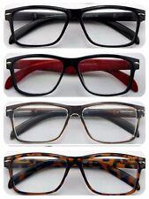 Wayfarer Reading Glasses/Super Classic Fashion Style & Large Frame Modern Design