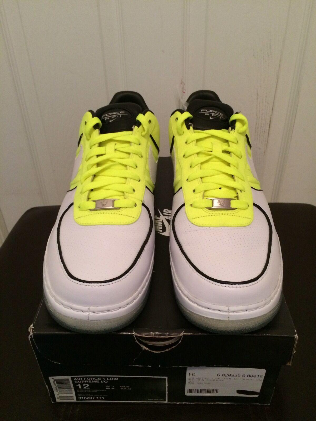 Nike Air Force 1 Low Supreme I/O Talaria VNDS 318287 171 Sz 12