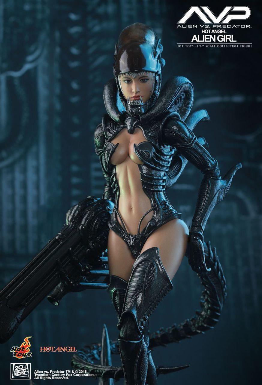 Alien Girl Hot Toys 1 6 Angel AVP Type Female Action Figure Phicen TBLeague Doll