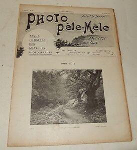 Revue-PHOTO-PELE-MELE-Juillet-1904-N-57-Photographie-des-couleurs-Pubs-CADOT