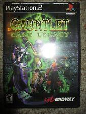 Gauntlet: Dark Legacy  (Sony PlayStation 2, 2001) PS2 Complete
