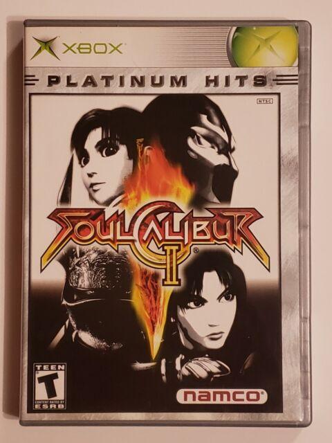 Soul Calibur II 2 Platinum Hits (Microsoft Xbox, 2003) Used, Complete