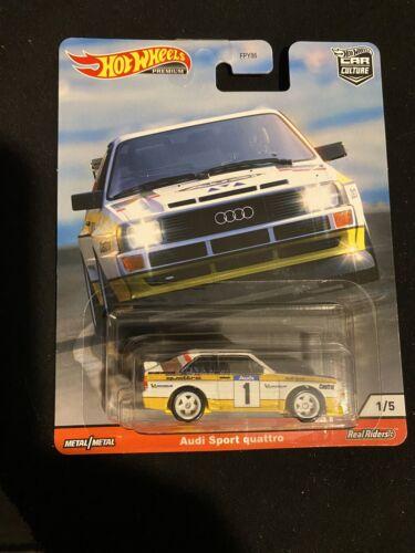 2020 Hot Wheels Car Culture Audi Sport Quattro Thrill Climbers #1 New Near Mint