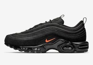 quality design 86253 1e298 Image is loading Nike-Air-Max-Plus-TN-97-BLACK-100-