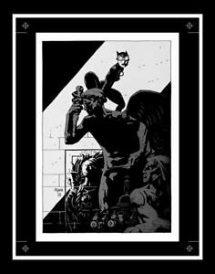 Catwoman-Selina-039-s-Big-Score-Pin-Up-Production-Art-by-Mike-Mignola