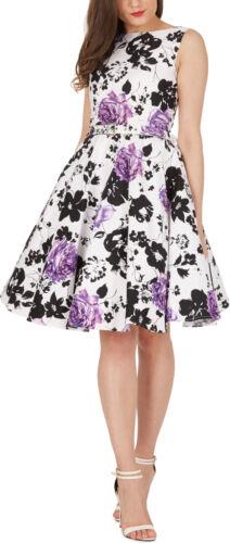 BlackButterfly /'Audrey/' Vintage Serenity Vintage 50/'s Rockabilly Swing Dress