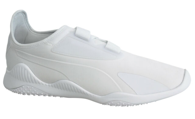 Puma Mostro White Strap Up Slip On Mens Running Trainers 362426 02 M2 5fd6bf70e