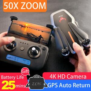 SG906 GPS 4K Drohne mit Kamera 5G WiFi FPV Faltbar RC Quadcopter mit 2 Batterie