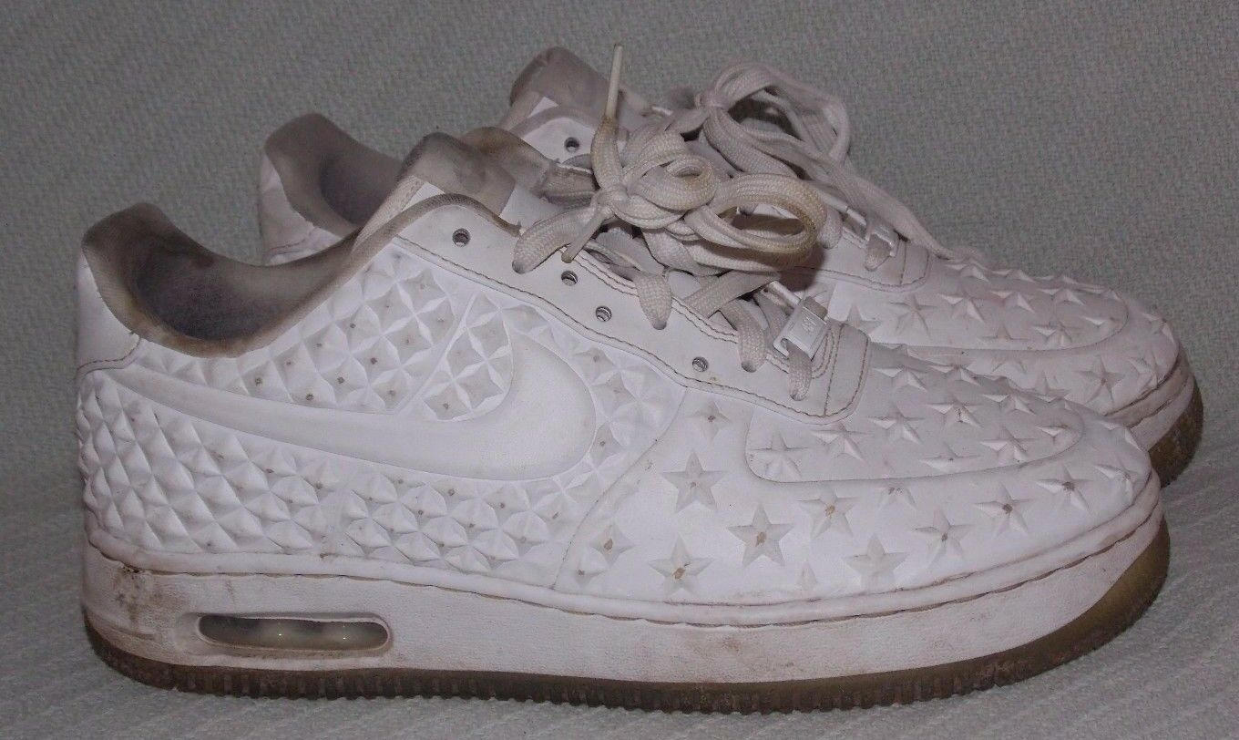 Nike Air Force 1 Elite AS QS Constellation Collection 744308-100 White Size 9