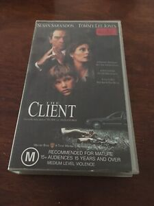 THE-CLIENT-SUSAN-SARANDON-VHS-VIDEO
