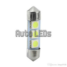 White SMD LED 36mm 3 SMD Festoon 12v Interior LED Bulb