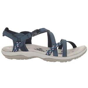 Skechers Reggae Slim Vacay Womens Ladies Adjustable Walking Sandals Size 4 8