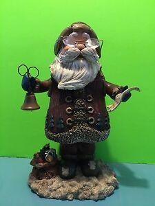 Animated wind up musical dancing santa claus collectible for Animated santa claus decoration