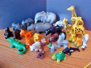 JUNGLE ANIMALS Choose Animals/&Quantity,Combine Ship A2 Lego Duplo ZOO SAFARI