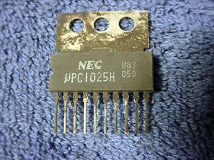 IC-NEC-UPC1025H-One-Chip-Amplifier-Integrated-Chip-PC-Circuit-Board-Vintage