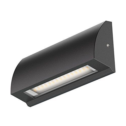 ledscom.de LED Wall Light Segin Staircase Light For Indoor And Outdoor, Flat, Au