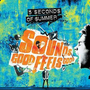 5 Seconds of Summer Sounds Good Feels Good CD Deluxe 19 Tracks Blue Cover