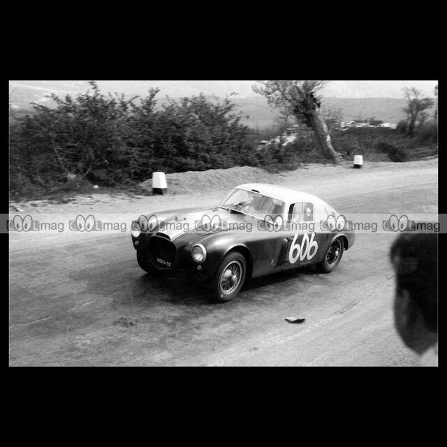 #pha.016033 Photo LANCIA D20 BERLINETTA PERUZZI-BONETTO MILLE MIGLIA 1953 Auto