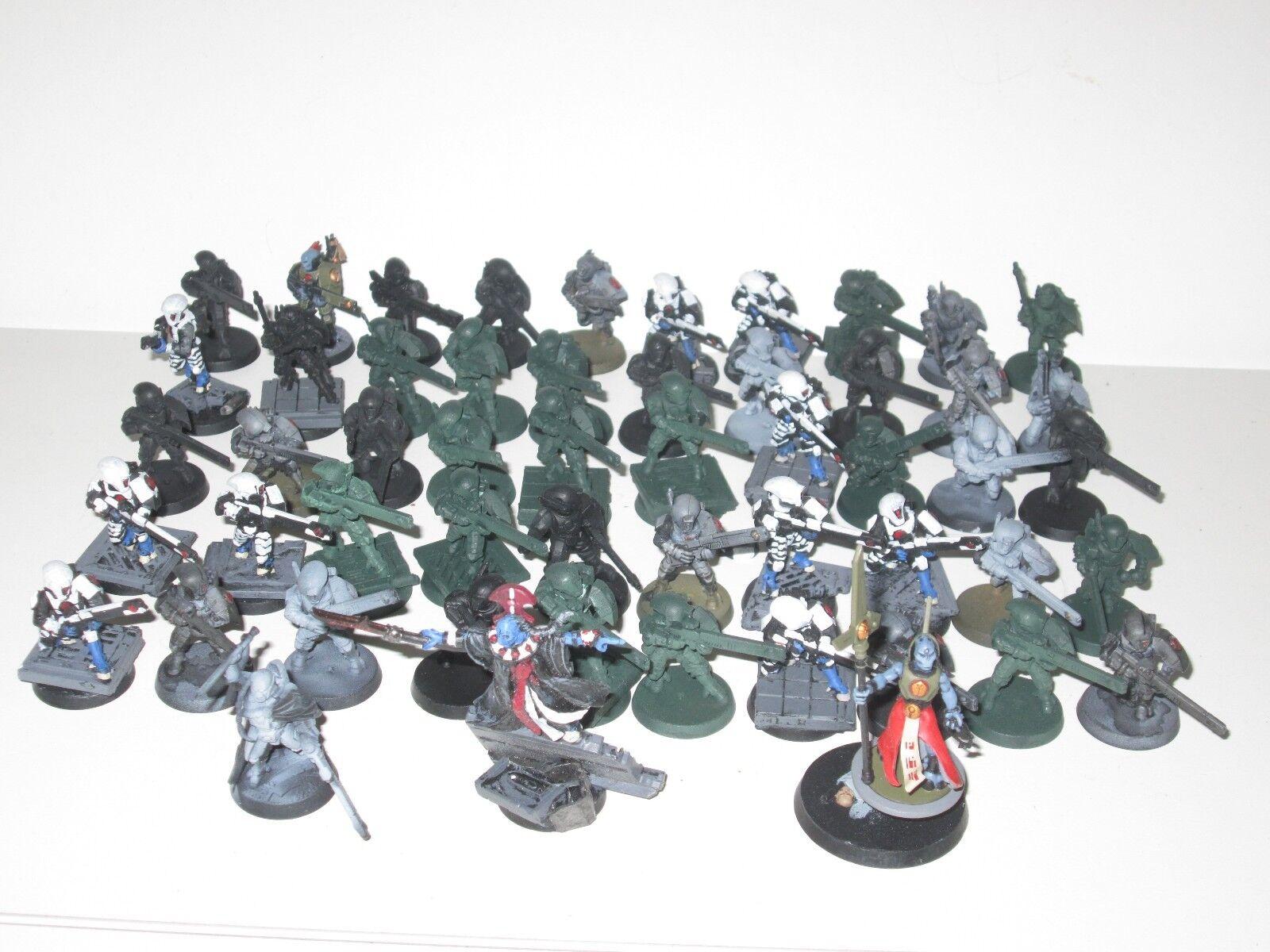 40K 50x fire warriors TAU breachers DIRETTORE 2x ethereals Fireblade 5136