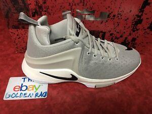 4ed463917d2e Nike Zoom Witness LeBron James Boys Basketball Shoes 860272-011 Gray ...