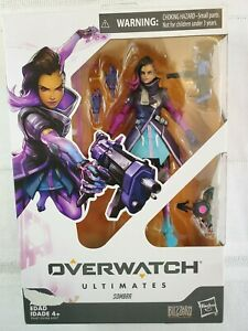 Overwatch-Ultimates-Series-Sombra-6-034-Figure-Hasbro-Blizzard-New-Damage-class