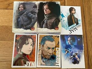 Rogue One Series 1 CHARACTER ICON Full Set of 11 Trading Card INSERTS Star Wars