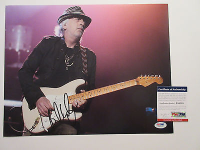 Autographs-original Brad Whitford Signed 11x14 Photo Psa/dna X45103 Aerosmith Rock On Rare