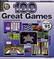 100 Great Games for Windows 95 (PC, 1997) Windows 95  New in Shrink Wrapped Box