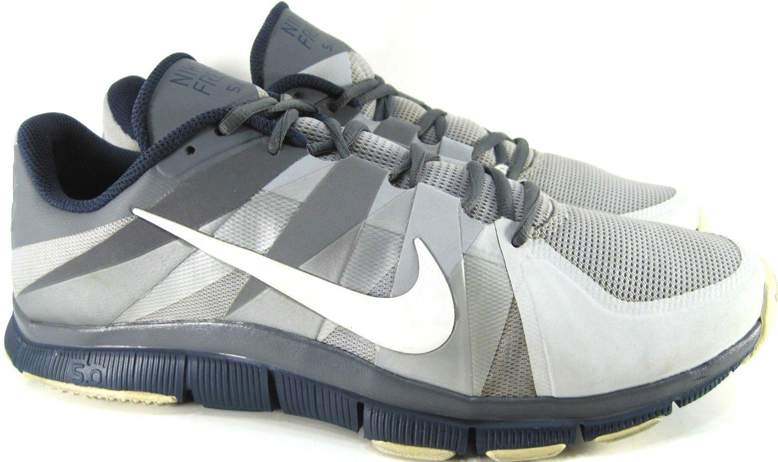Nike Free 5.0 Men Sneakers Size 13 M Navy Gray Style 63615