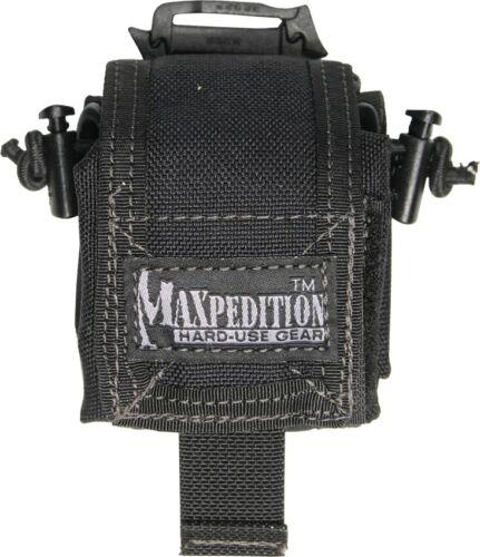 MAXPEDITION Black Mini ROLLYPOLY bouteille d/'eau titulaire transporteur noir
