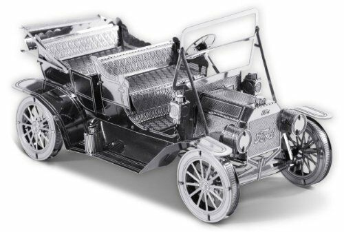 Tenyo Metallic Nano Puzzle 1908 Ford Model T model Kit NEW from Japan