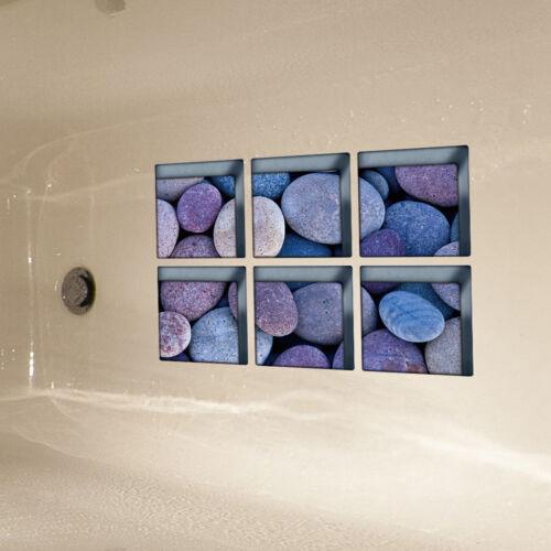 Blesiya Safety Bathtub Stickers Decals Tread Nonslip Shower Applique Style1