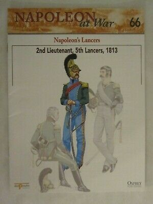 Napoleons Lancers 2nd Lieutenant 5th Lancers 1813 Del Prado Napoleon at War No 66