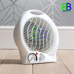 Fine-Elements-Upright-Fan-Heaters-2000W-With-2-Heat-Settings-amp-Switch-New